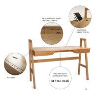 psací stůl Univers - detaily