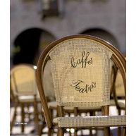 ratanová židle Dhor 320 s logem