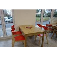 Restaurační stůl 136 deska lamino