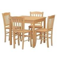 Restaurační stůl RS buk a židle Veneta masiv buk