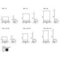 rozměry lavice Modus