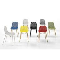 různá provedení židle Next