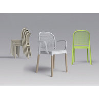 různé varianty židlí Panama 2
