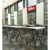 skládací židle PLIO a podnože La Rochelle