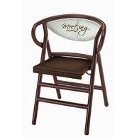 skládací židle PLIO s logem podniku