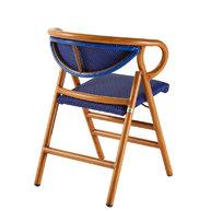 skládací židle PLIO v provedení Alurattan