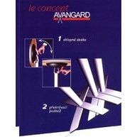 skládání a skladování stolů R60/Avangard mange debout