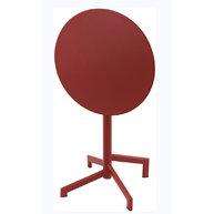 sklápěcí stůl PIGALLE v červené barvě Pimento