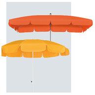 slunečníky Gastro Waterproof s volánem