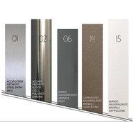 standardní barvy kovové podnože