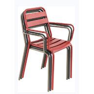 stohování židlí Bastille