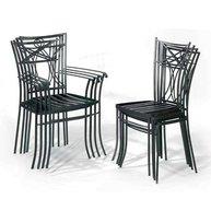 Stohovatelné židle Bretagne