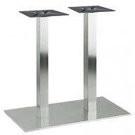 stolová podnož Flat 17 INOX 6x6
