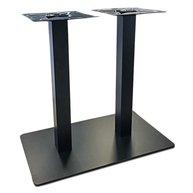 stolová podnož Flat 17 se sloupky 6x6cm