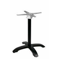 stolová podnož Trento 4F black