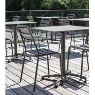 stolové desky Compact stock 12mm s židlemi Bastille