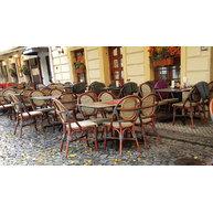 stoly StableTable 120x70 cm v restauraci U Zlatých Nůžek