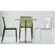 stůl 4402 AC 60x60 COMPACT se židlemi Blitz