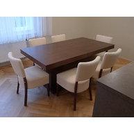 stůl Block ve složeném stavu se židlemi Isabela