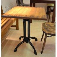 stůl Dominique 4Q deska 60x60 dýha mdf 28 Antique