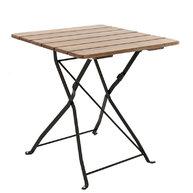 stůl Klasik 70x70 jasan černá barva konstrukce