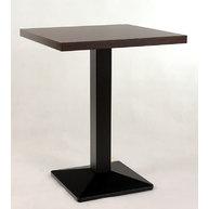 stůl Oblique 027QLTD v rozměru 60x60cm dekor Wengé