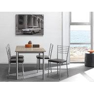 stůl Perfekt s židlemi Roma