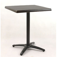 stůl Roma 4QSM black s deskou 60x60 cm