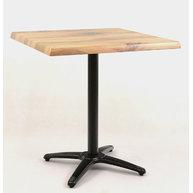 stůl Roma 4QSM Black s deskou 70x70cm dekor Boston
