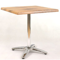 stůl Roma 4QSM s deskou 70x70 cm Boston
