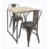 stůl s podnoží Factory 70 a židle Gustave