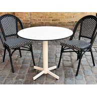 stůl StableTable white se židlemi
