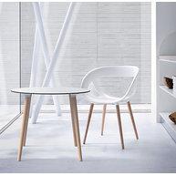 stůl Stefano s židlí Moema nohy masivní buk
