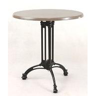 stůl Tivoli 3RSM s deskou pr. 70cm Zen Taupe