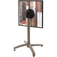 Stůl Verona QCOM s podnoží v barvě Taupe a deskou Compact Stock 12mm Rewood -dekor se již nevyrábí