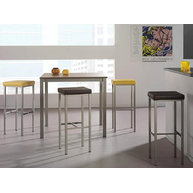 stůl Xander výška 110 cm s barovkami Zara