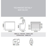 technická specifikace baru IGLOO