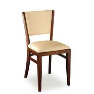 varianta židle JONAS s čalouněným opěradlem