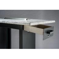 venkovní kuřácký stůl Topline - detail popelníku