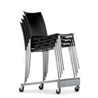 vozík na přepravu židlí