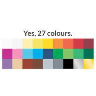 výběr barevných folií pro sedák a opěradlo