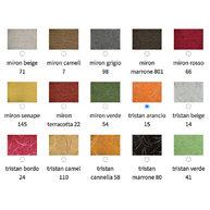 vzorník barev čalounění sedáku