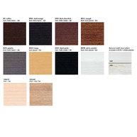 vzorník barev dřeva