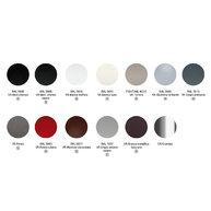 vzorník barev kovového podnoží
