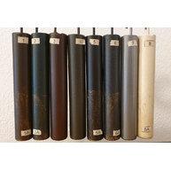 vzorník barev kovu (patinované barvy označené