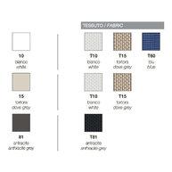 vzorník barev pro lehátka TAHITI