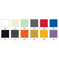 vzorník barev židle Over
