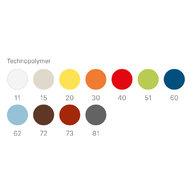 vzorník barev židle Sai