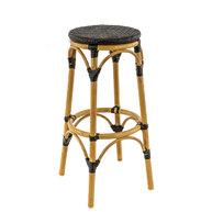 zahradní barová židle PASSY Black