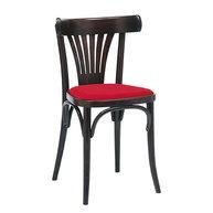 Židle 056 s čalouněným sedákem